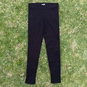 VINCE Black Tapered Trouser Leggings Size Large